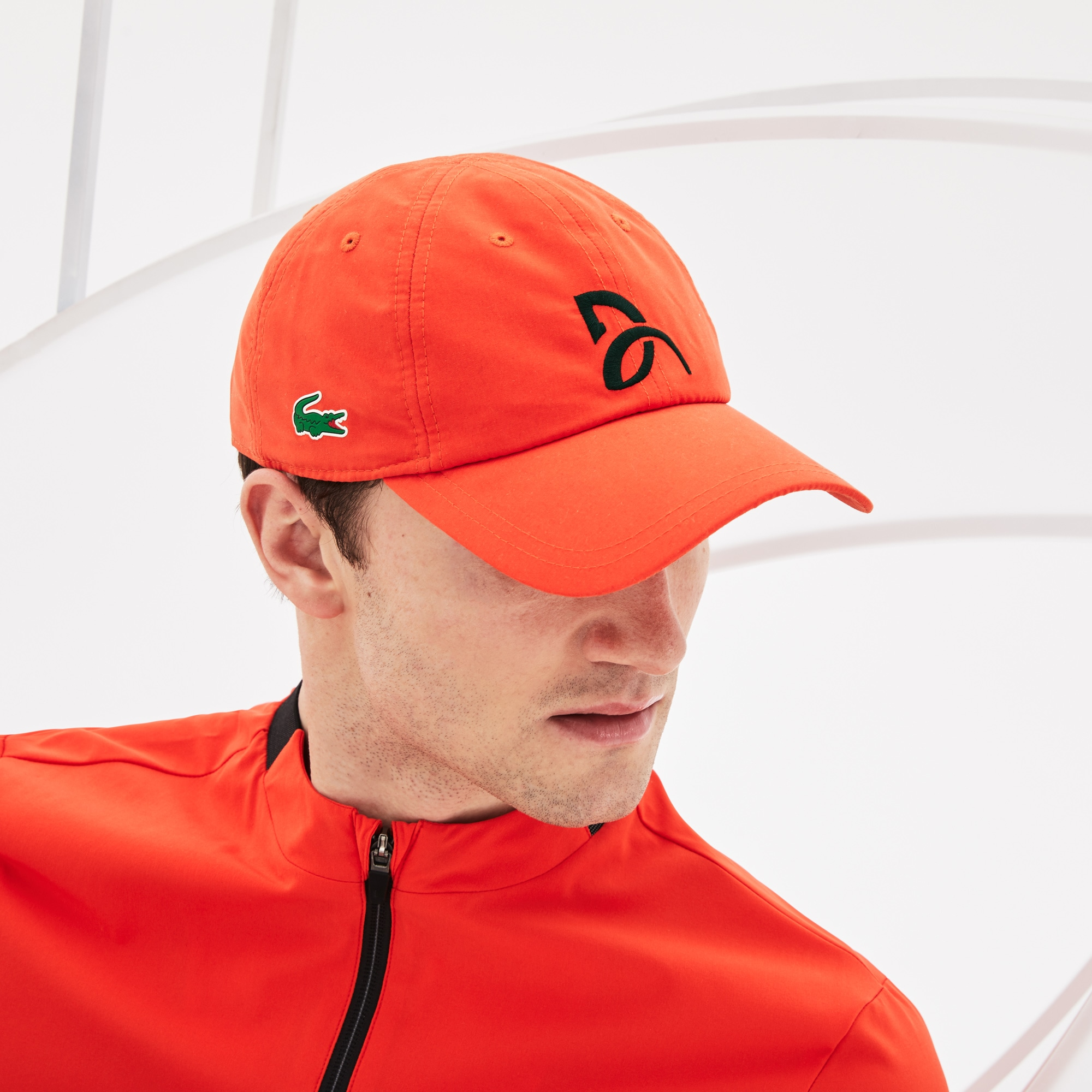 Men's  Sport Tennis Microfiber Cap - Support With Style Collection for Novak Djokovic