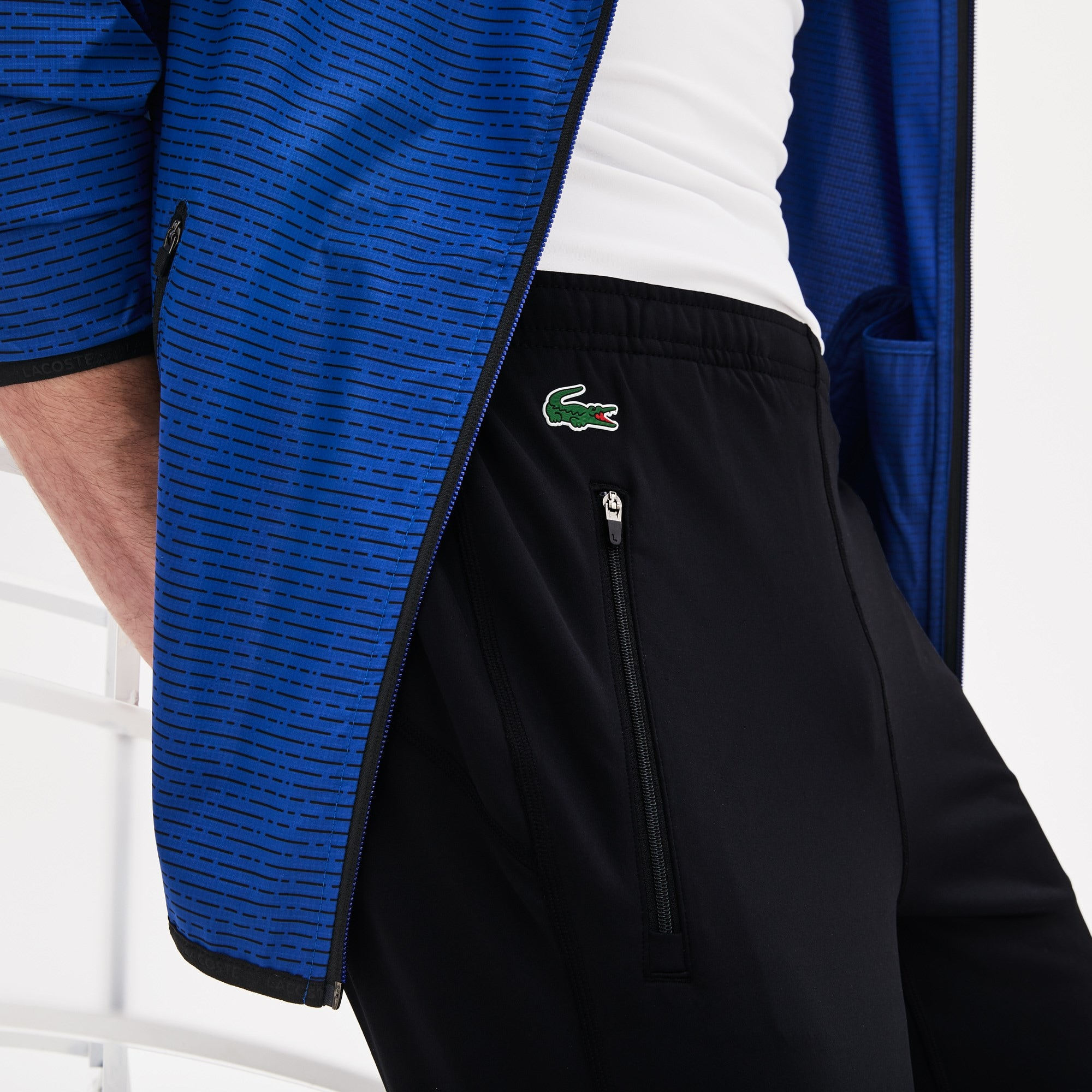 Men's Lacoste SPORT Tennis trackpants in technical jersey