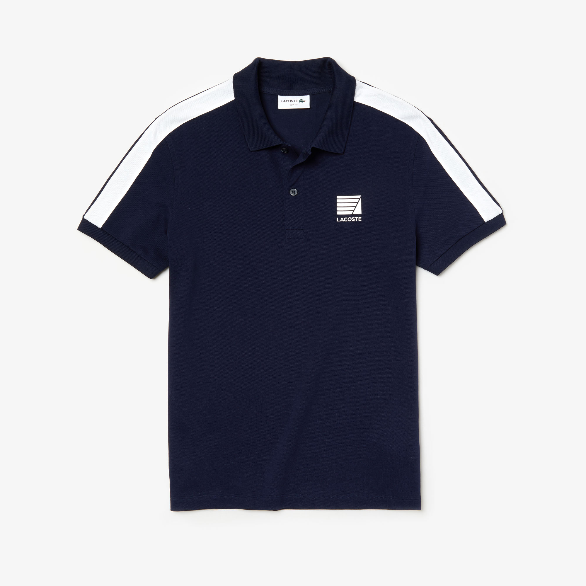 Men's Slim Fit Cotton Mini Piqué Polo