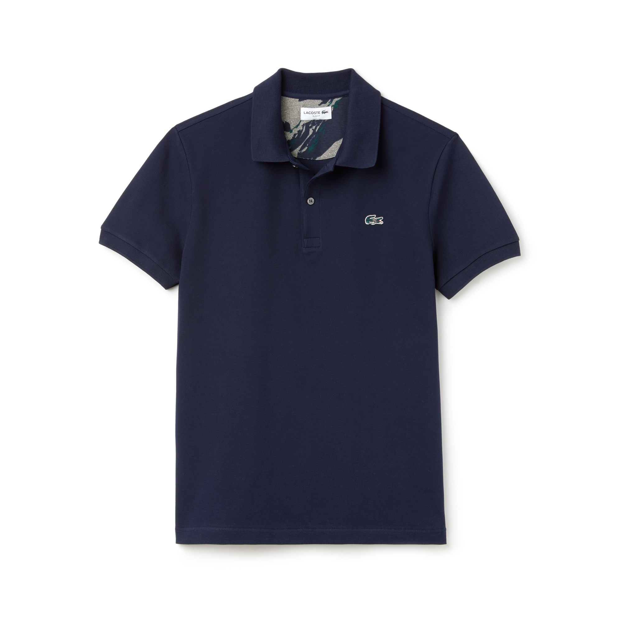 Men's Slim Fit Stretch Mini Piqué Polo
