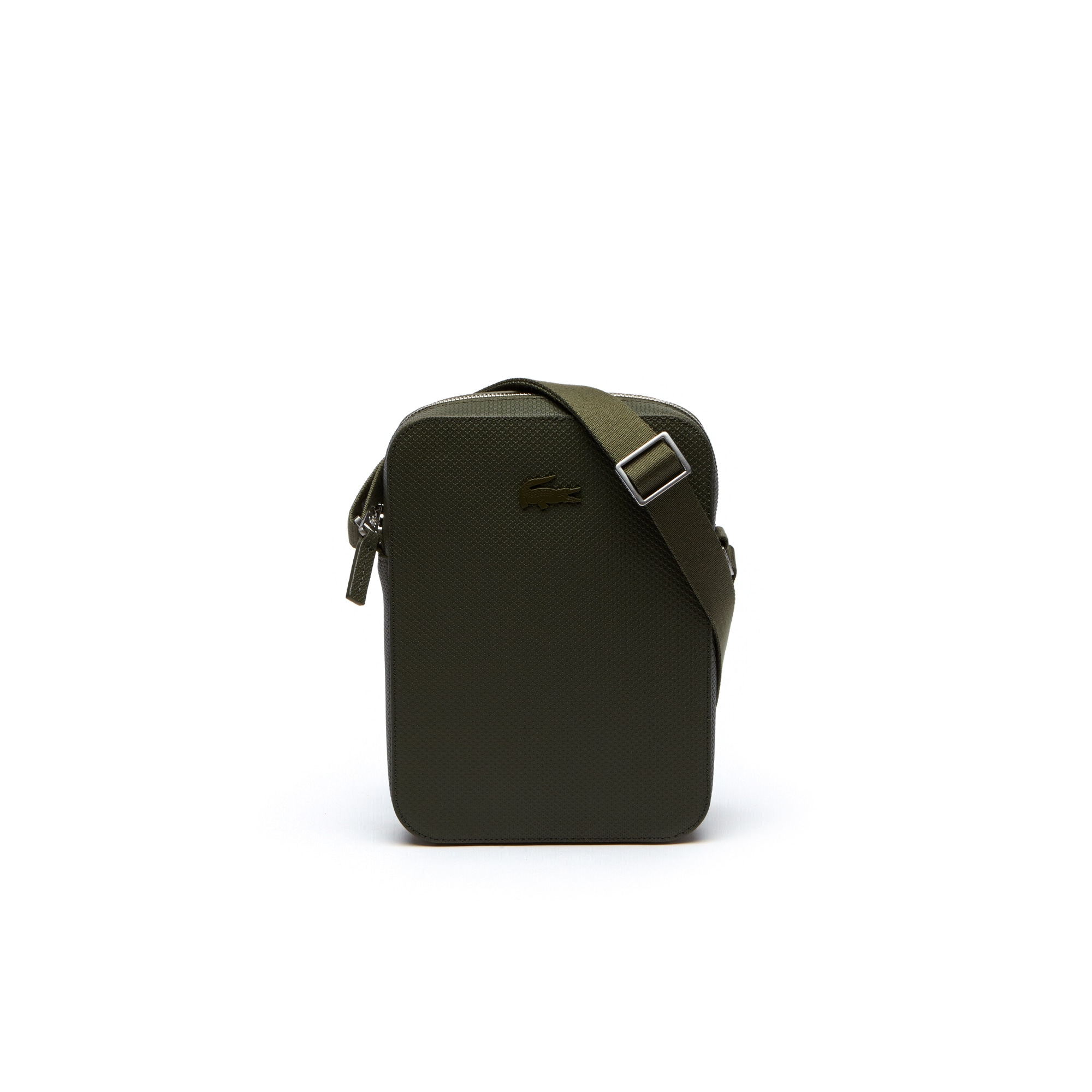 Men's Chantaco Vertical Matte Piqué Leather Bag