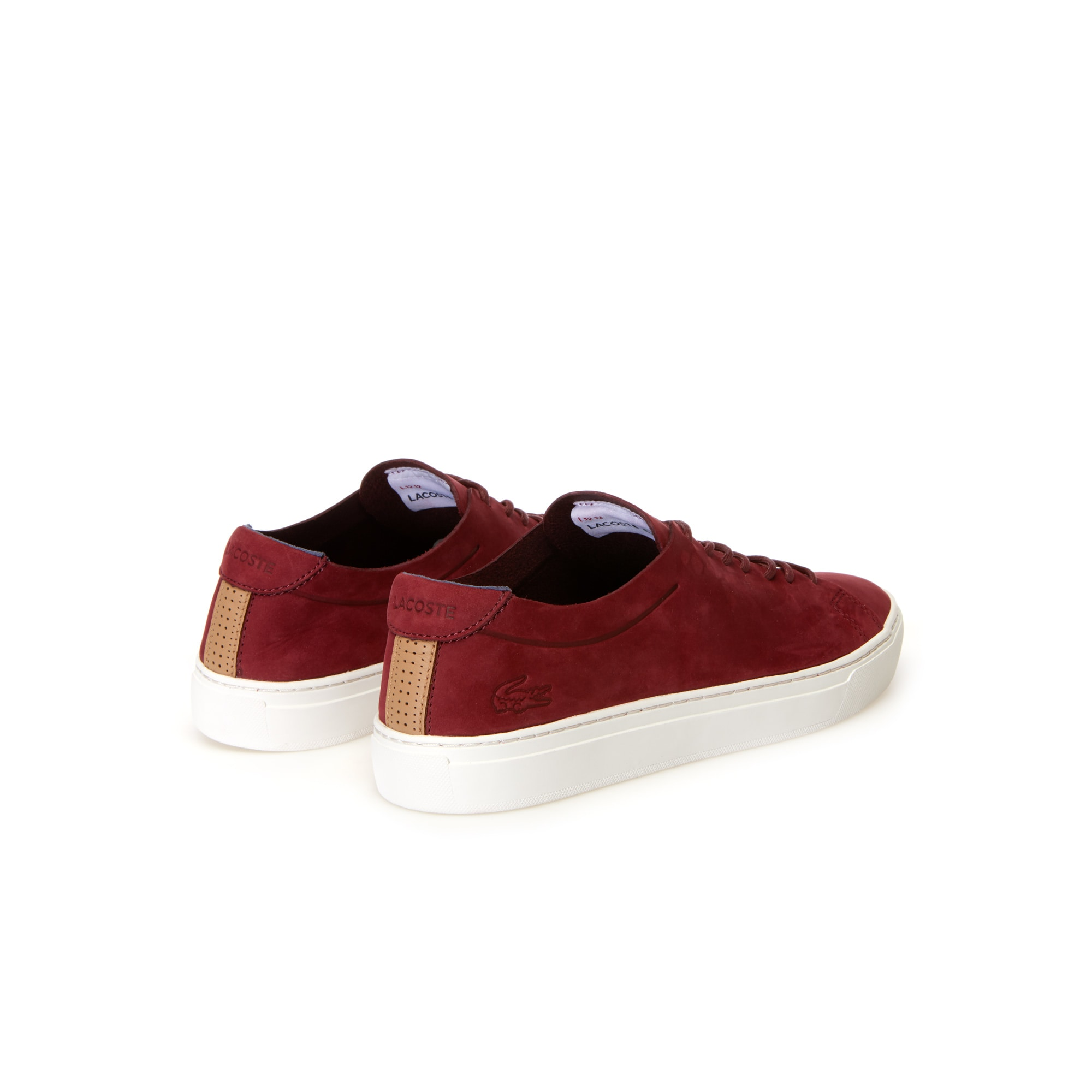 2be06c0dae13c Men s L.12.12 UNLINED Nubuck Leather Trainers