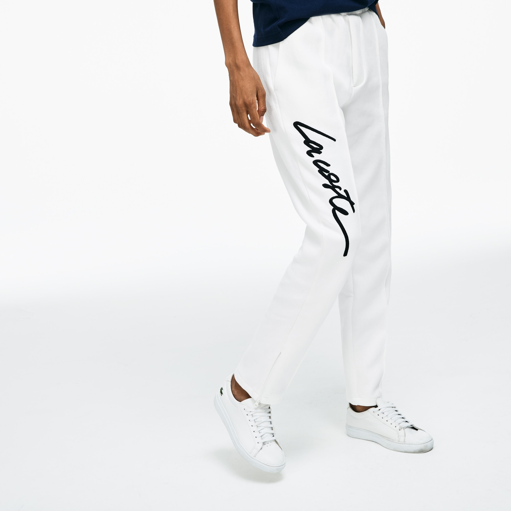 Unisex LIVE Embroidered Fleece Urban Jogging Pants