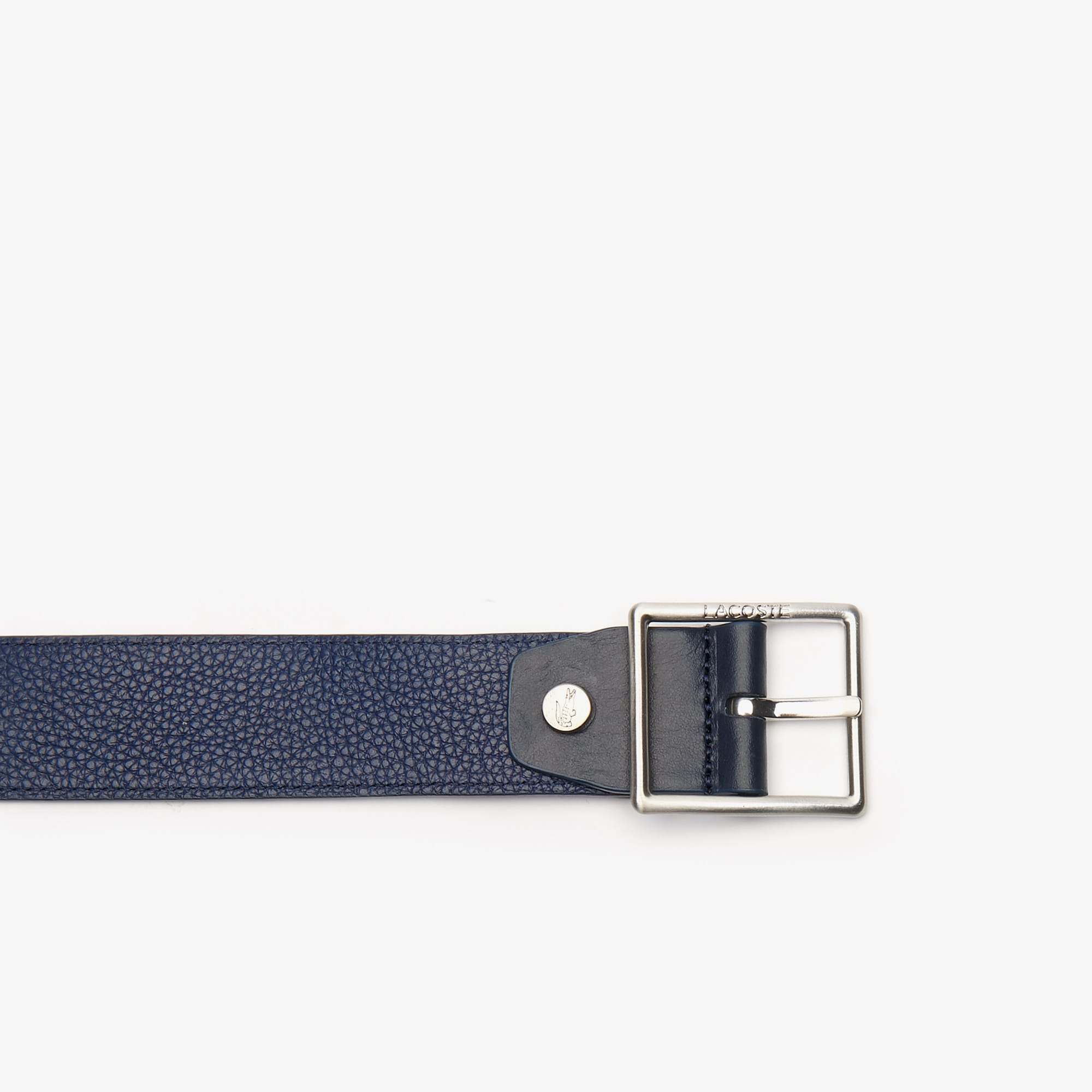 Men's Reversible Satin And Leather Belt
