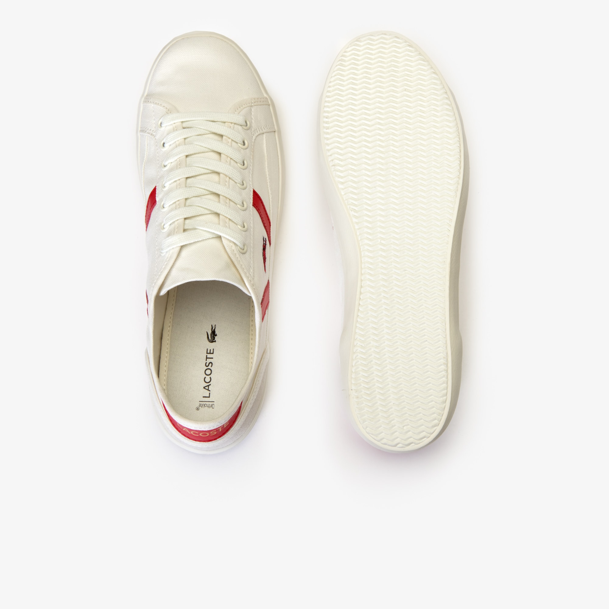 Men's Sideline Canvas and Leather Sneakers