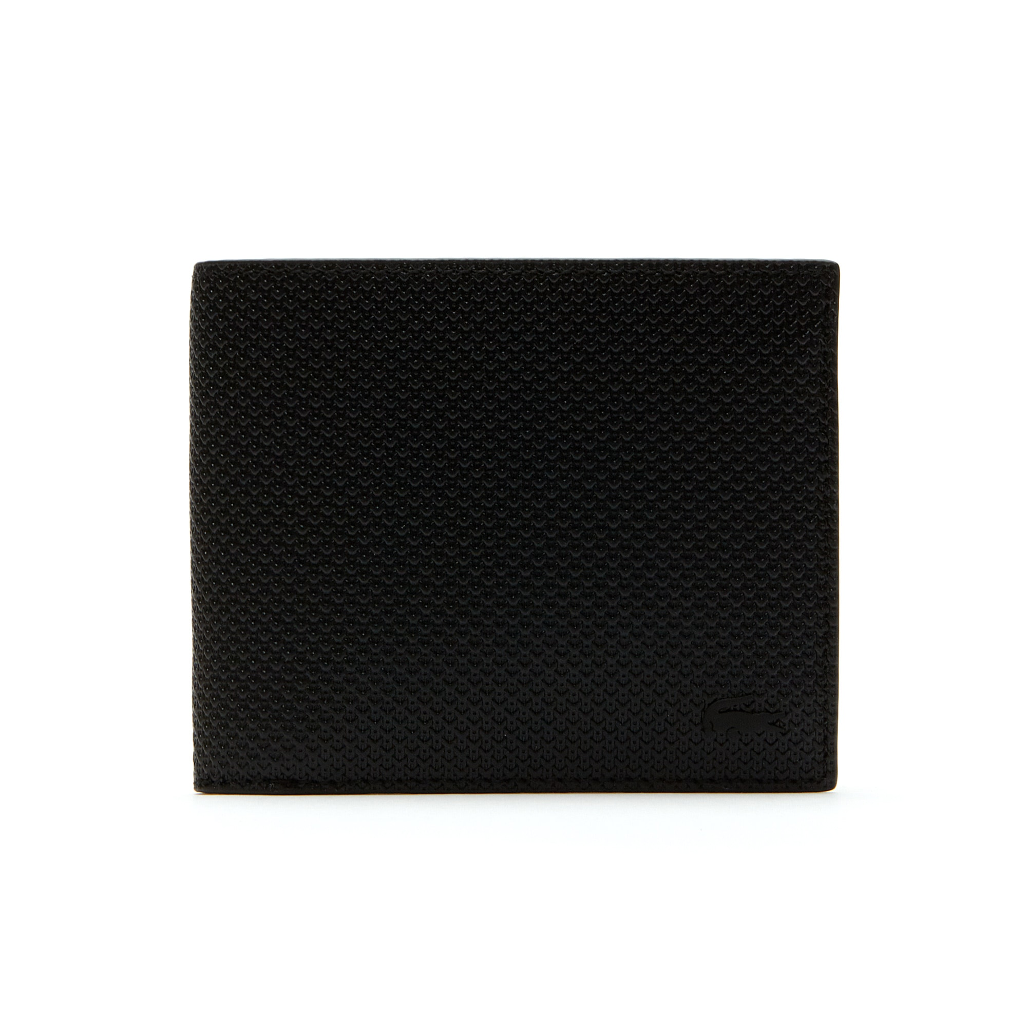 Men's Chantaco Matte Piqué Leather Three Card Wallet