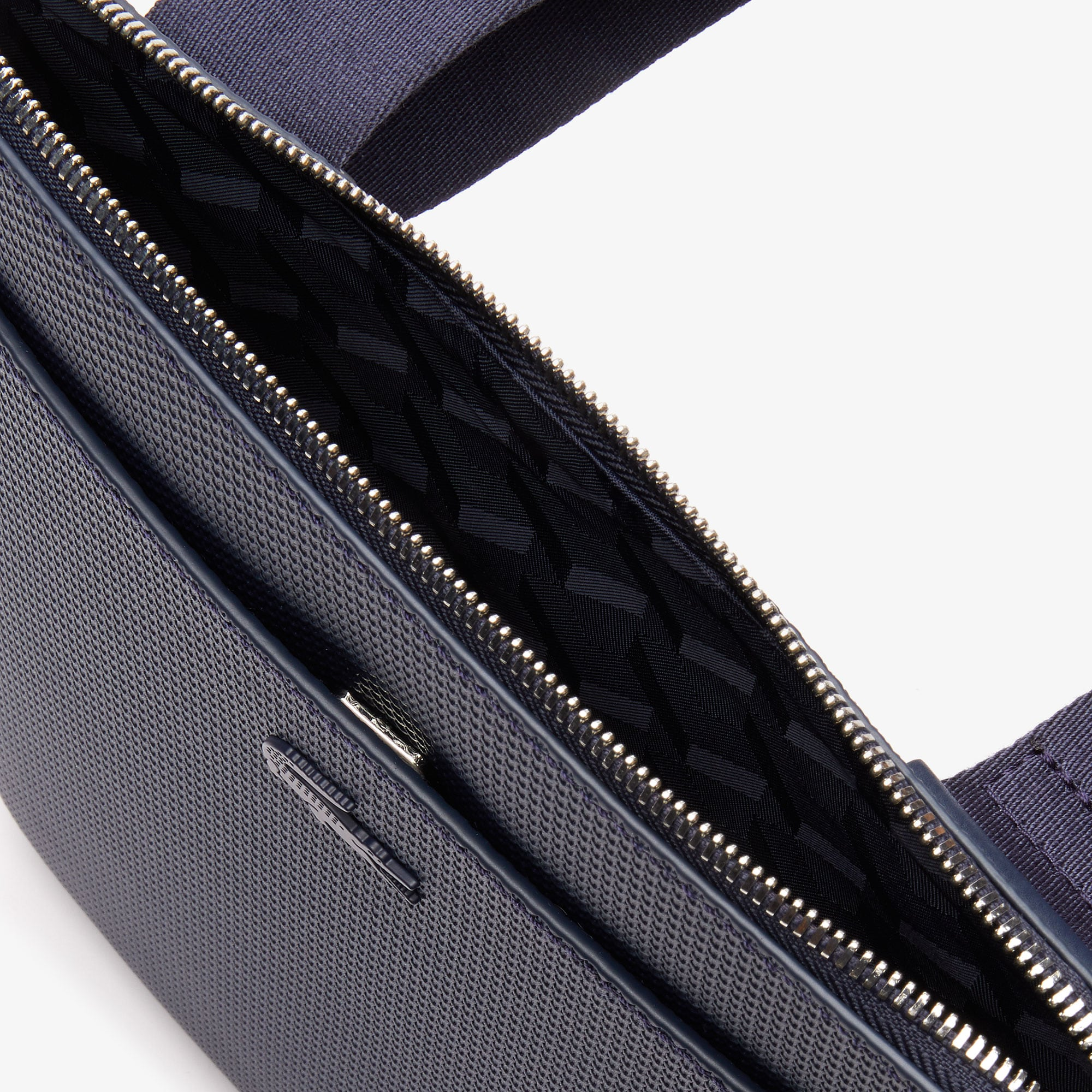 Men's Chantaco Matte Leather Flat Zip Bag