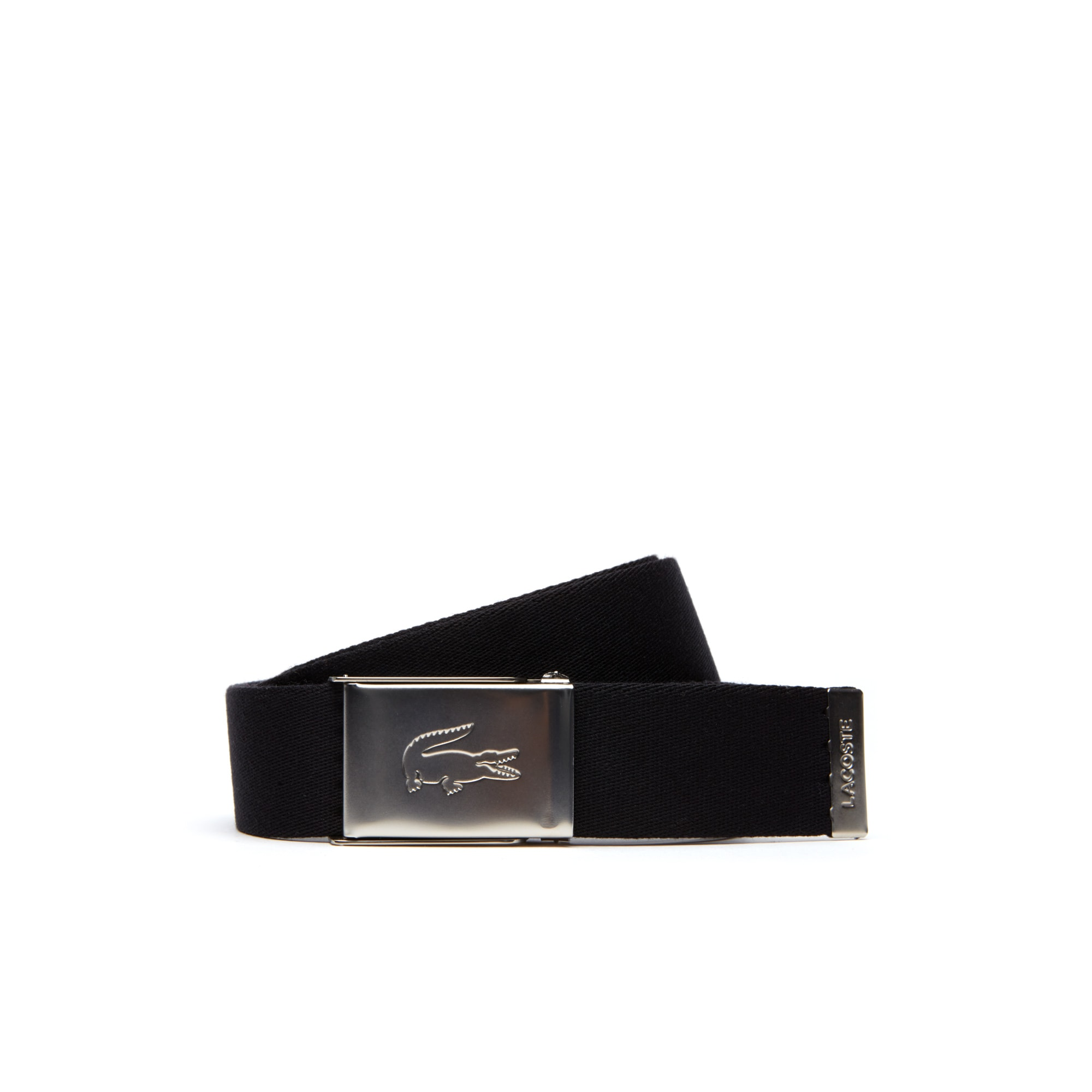 Men's Two Leather And Woven Belt Straps And Two Buckles Travel Kit