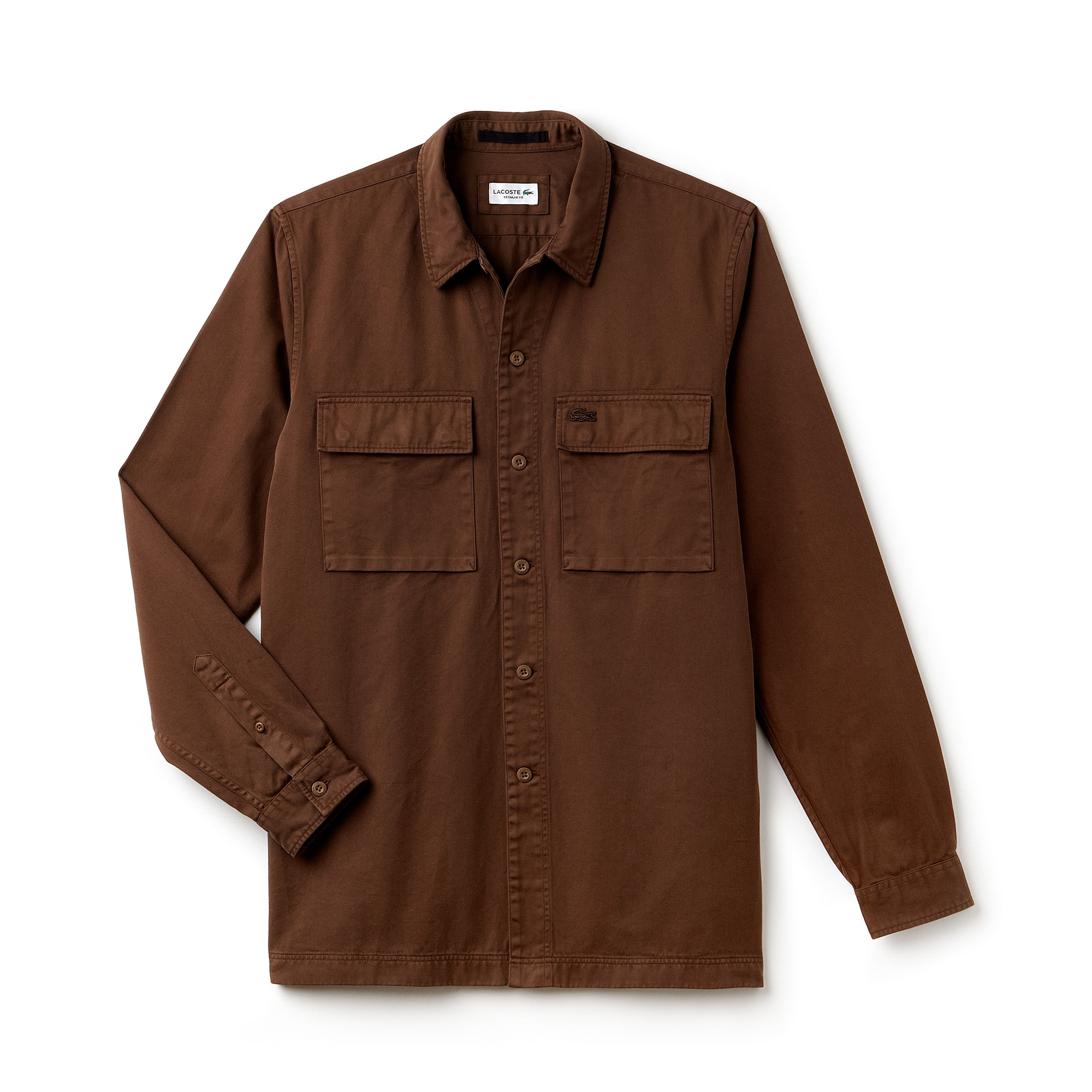 Men's Relaxed Fit Faded Twill Shirt