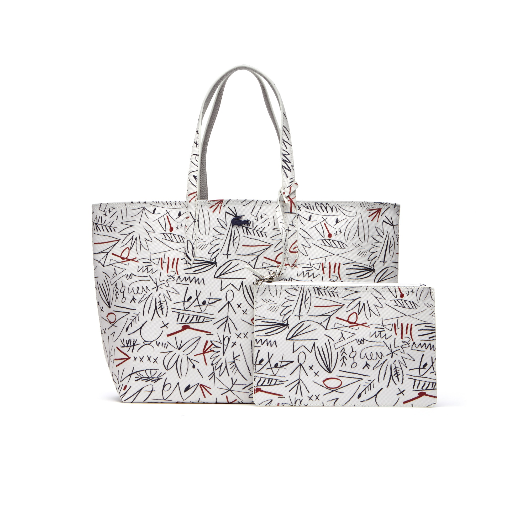 Women s Anna Reversible Bicolor Egyptian Print Tote Bag  88a63423ae