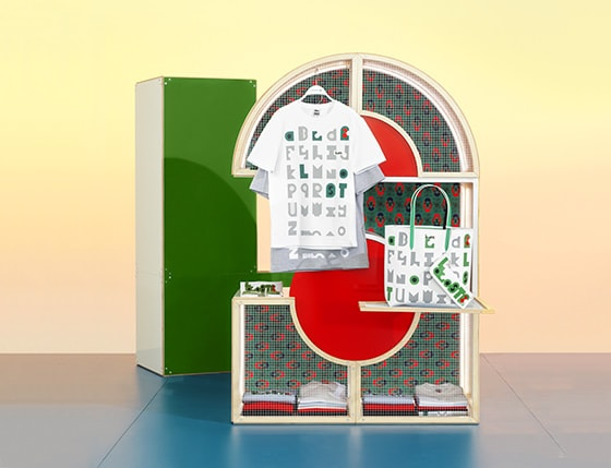 Lacoste Gets a (Typo)graphic Makeover