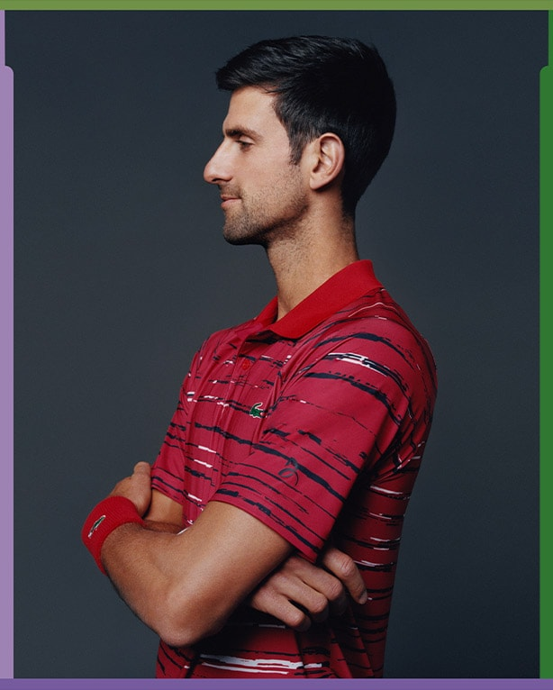 Novak Djokovic, his outfit for China