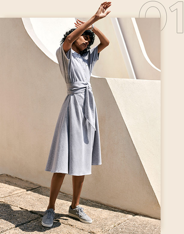 01.The Everyday Polo Dress