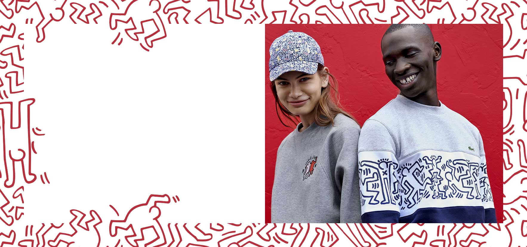 LACOSTE x KEITH HARING