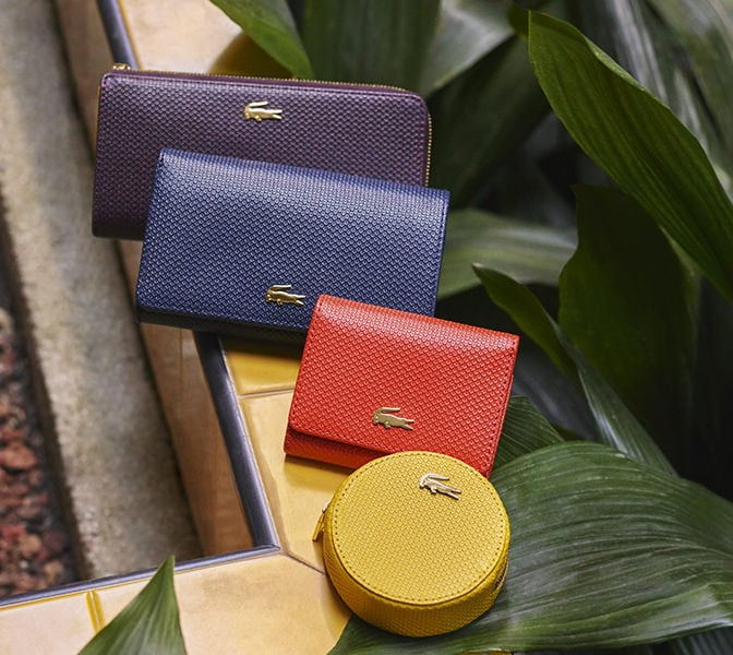 Brighten up dark days with Chantaco small leather goods