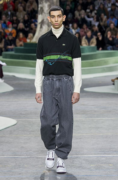 65a936701e51 The Lacoste Fall Winter 2018 Show