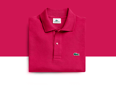 18f6fb968739c The Lacoste polo