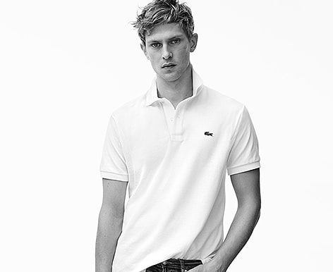 Polo Guide find your polo shirt size and fit | Lacoste